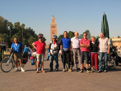 Abschied in Marrakech