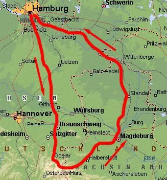 Ddr Grenze Karte Harz.Radreiseddr90