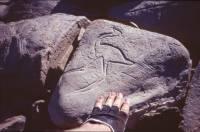 Prähistorische Gravuren in Ouasik