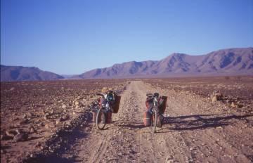 Einstieg in die Strecke nach Mhamid
