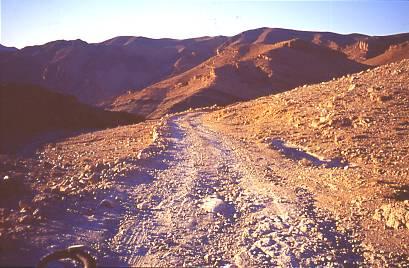 typische marokkanische Bergpiste