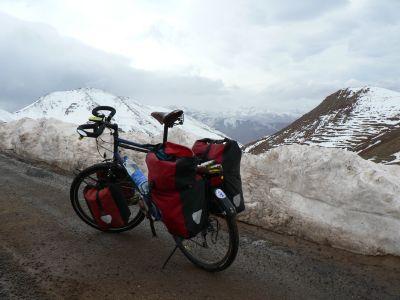 Wintereinbruch im Hohen Atlas